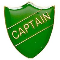 ShieldBadge Captain Green</br>SB019G